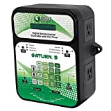 Titan Controls	HGC702851	Classic Series 	Saturn 5 - Digital Environmental Controller With CO2 Timer, 120 Volt		Black