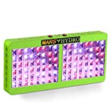 Marshydro Reflector 960W LED Grow Light Full Spectrum for Hydroponic Indoor Garden and Greenhouse Veg and Bloom Switches Added