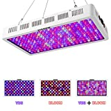HIGROW 1000W Optical Lens LED Grow Light Full Spectrum with Veg and Bloom Switch for Greenhouse and Indoor Plant Growing