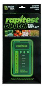 luster soil test kit digital